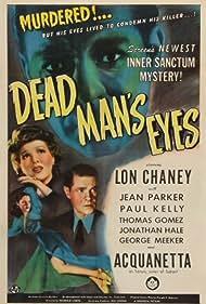 Dead Man's Eyes (1944) Poster - Movie Forum, Cast, Reviews