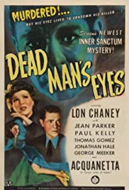 Dead Man's Eyes Poster