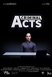 Criminal Acts Poster