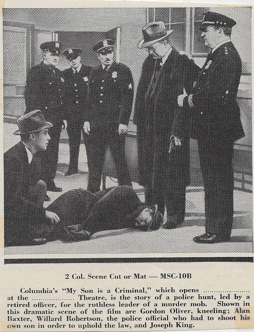 Alan Baxter, Joe King, Ethan Laidlaw, Pat O'Malley, Gordon Oliver, and Willard Robertson in My Son Is a Criminal (1939)