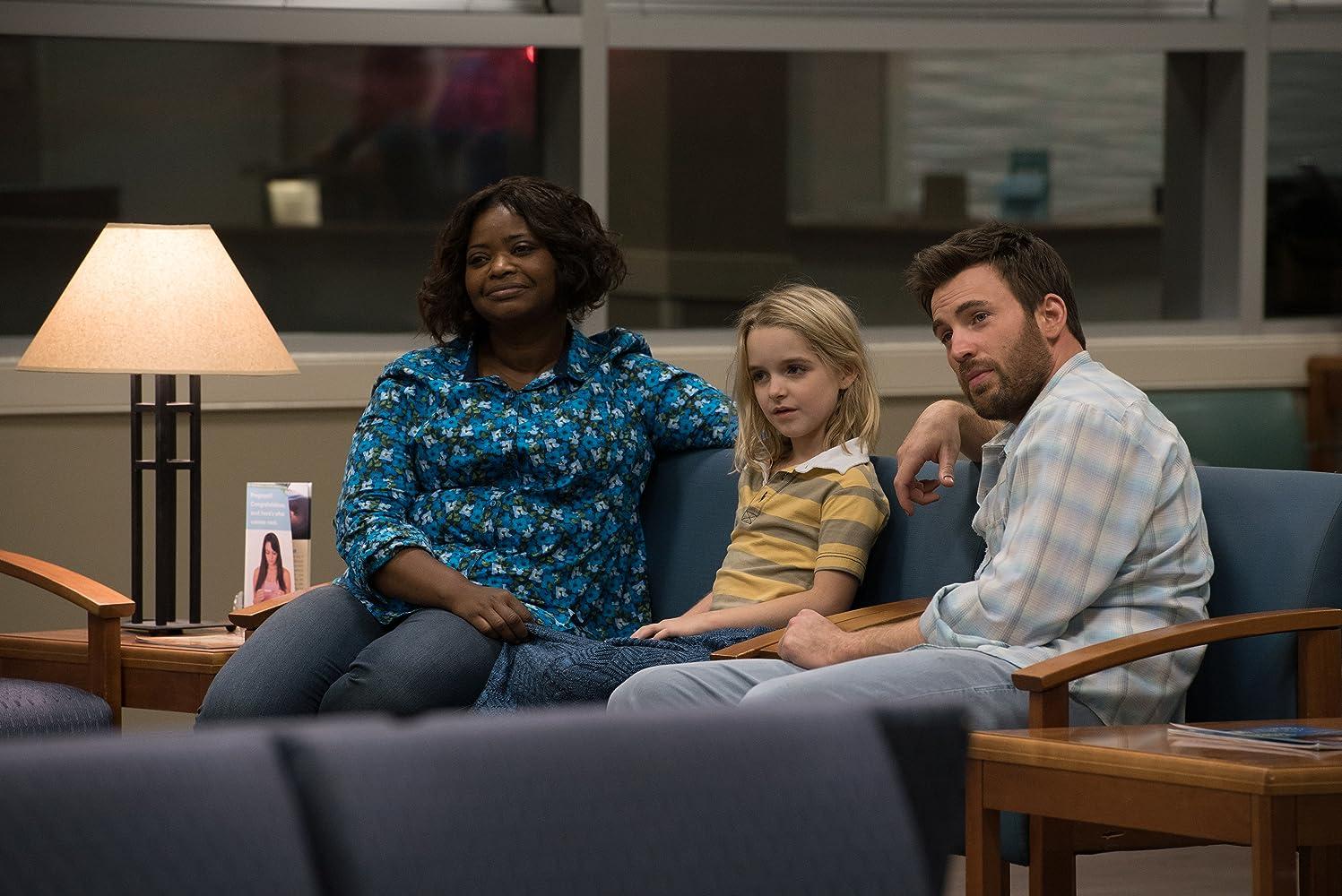 Dalam film 'Gifted' (2017), Chris Evans beradu peran dengan Octavia Spencer dan Mckenna Grace.