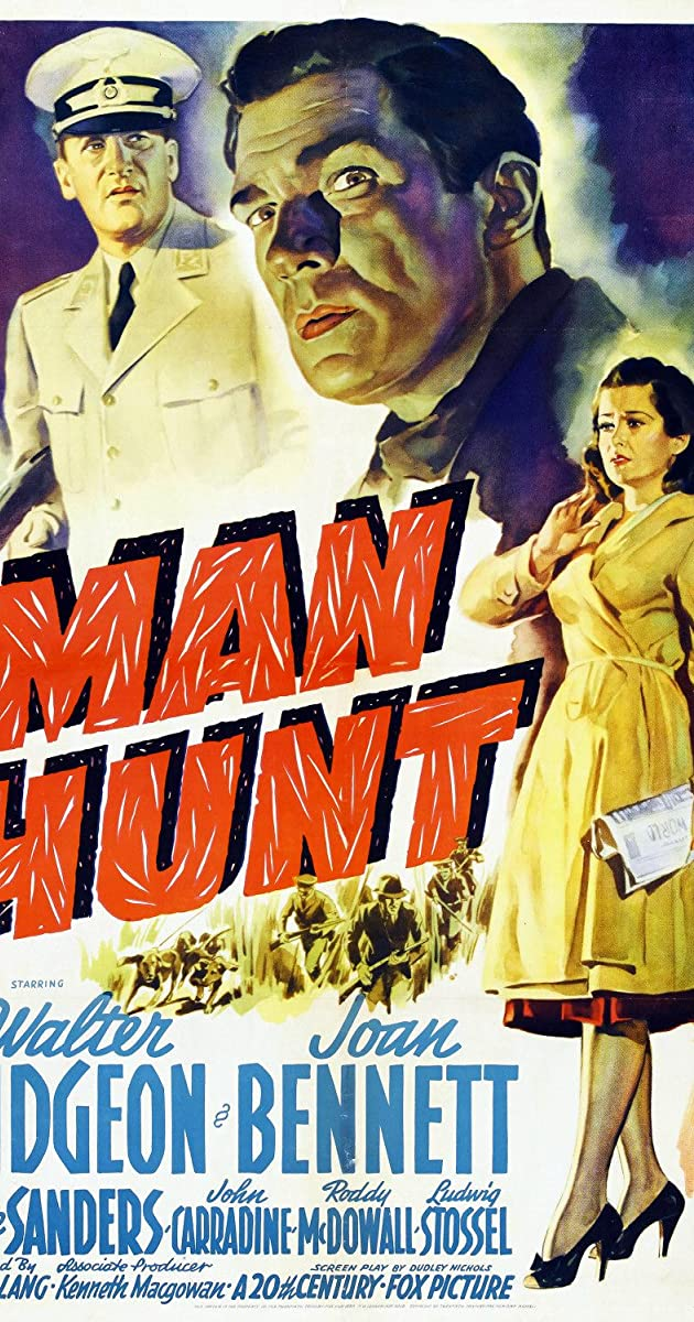 Subtitle of Man Hunt