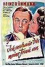 Ich vertraue Dir meine Frau an (1943) Poster