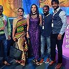 Kripal Kalita, Abarnarhi, and Ganesh Vinayak at an event for Thaen (2021)