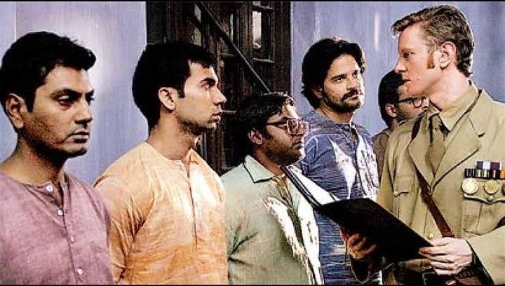 Dibyendu Bhattacharya, Nawazuddin Siddiqui, Rajkummar Rao, and Jaideep Ahlawat in Chittagong (2012)