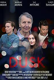 Elliott Sailors, Duncan James, and Victoria Emslie in Dusk (2017)