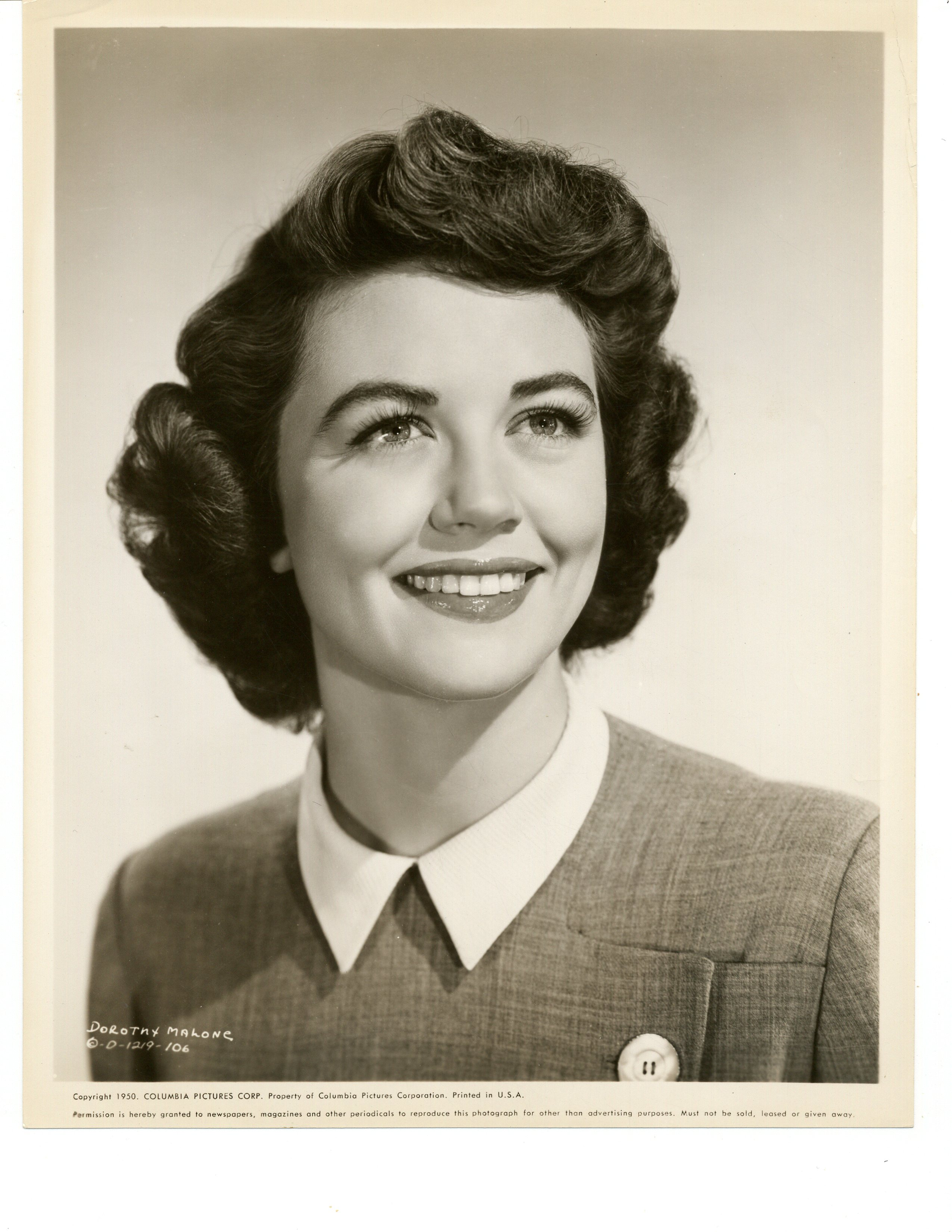 Dorothy Malone in Convicted (1950)