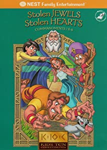 The watch list movie Kids' Ten Commandments: Stolen Jewels, Stolen Hearts by [BRRip]
