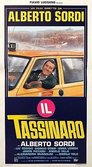poster Il tassinaro