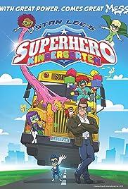 Superhero Kindergarten Poster