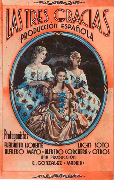 Las tres gracias (1936)