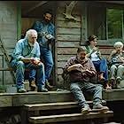 Rémy Girard, Andrée Lachapelle, Gilbert Sicotte, Éric Robidoux, and Ève Landry in Il pleuvait des oiseaux (2019)