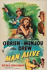 Man Alive Poster
