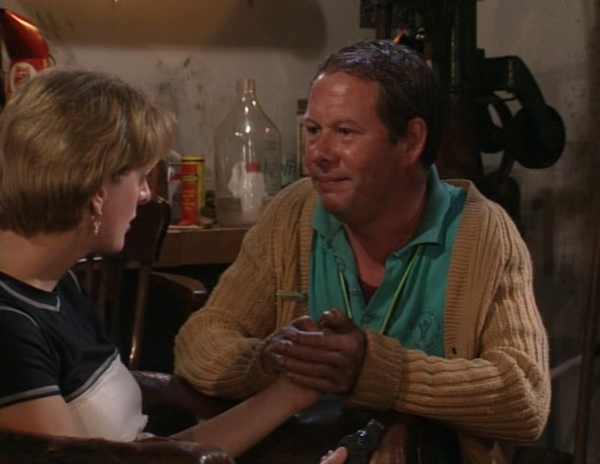 Michael Burns and Judy Flynn in The Brittas Empire (1991)