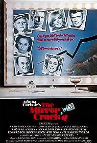 Elizabeth Taylor, Tony Curtis, Geraldine Chaplin, Rock Hudson, Angela Lansbury, Kim Novak, and Edward Fox in The Mirror Crack'd (1980)
