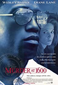 Diane Lane and Wesley Snipes in Murder at 1600 (1997)