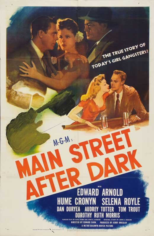 Edward Arnold, Dorothy Morris, and Tom Trout in Main Street After Dark (1945)