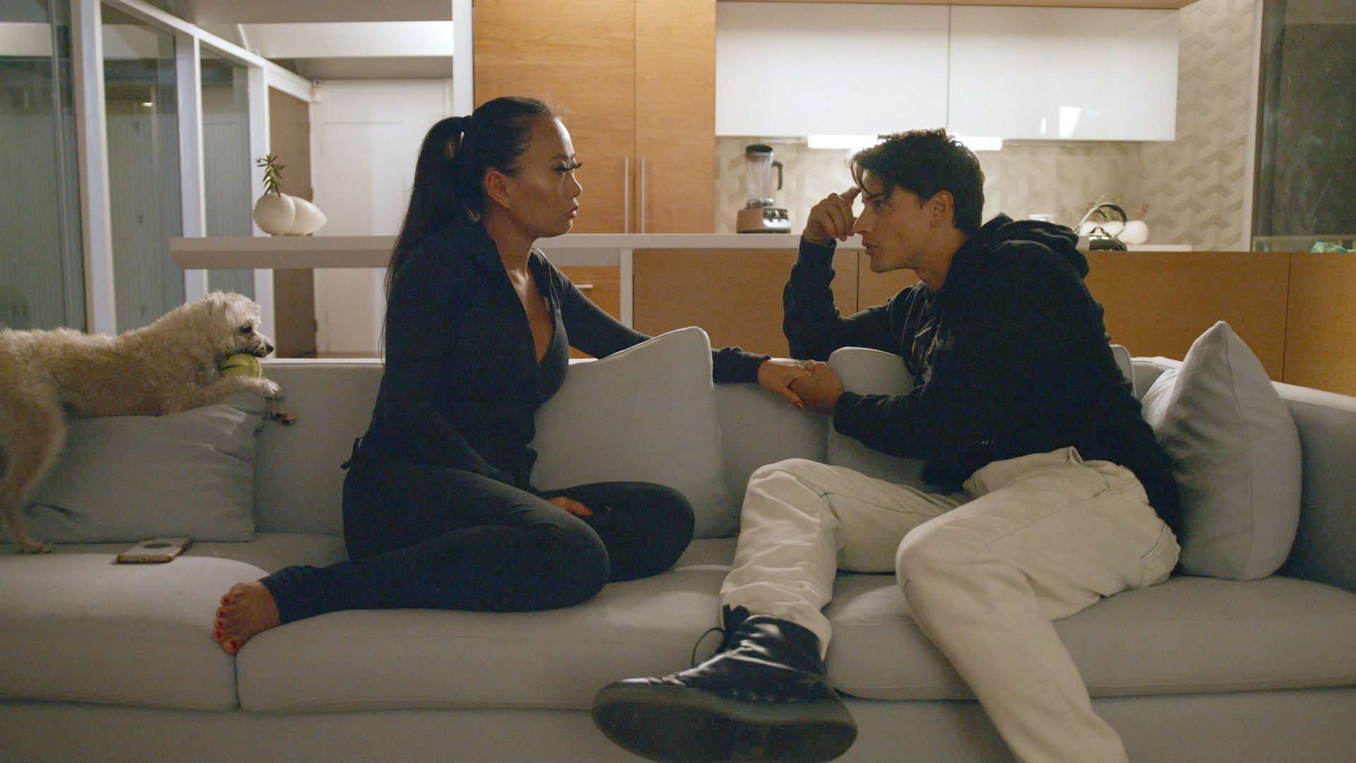 Andrew Gray and Kelly Mi Li in Bling Empire (2021)