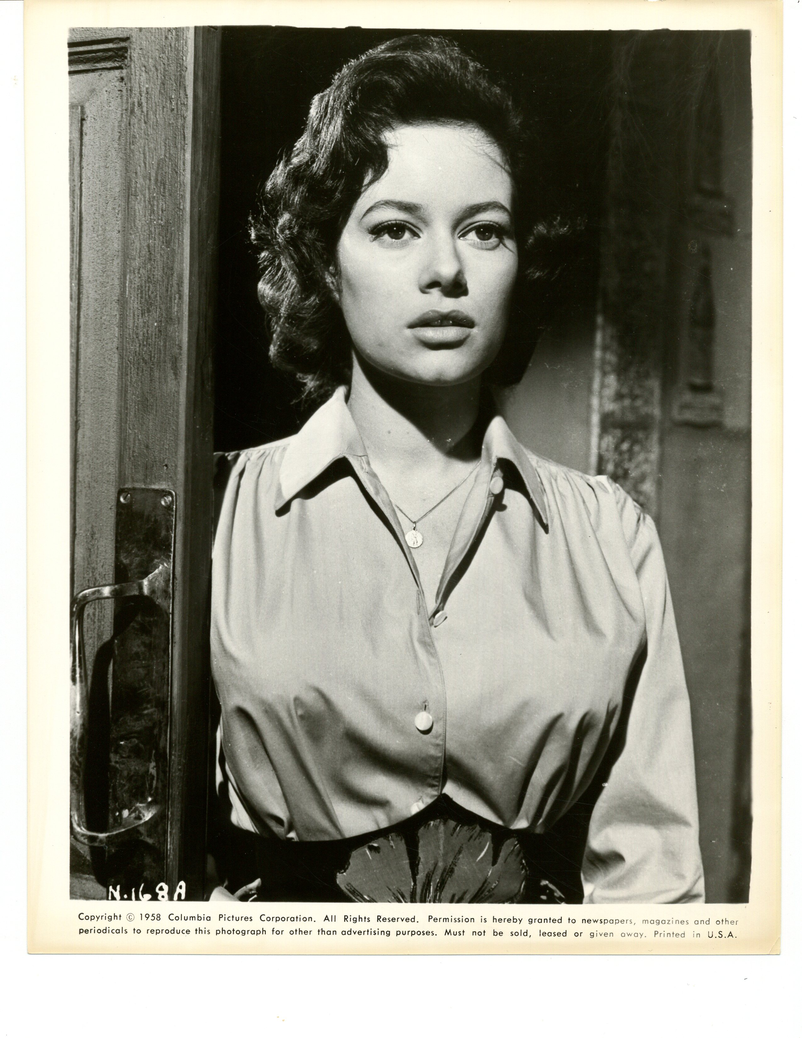 Luciana Paluzzi in Tank Force! (1958)