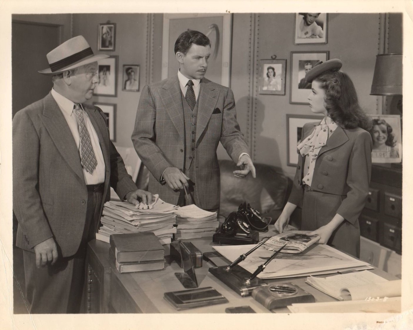 Gloria DeHaven, George Murphy, and Charles Winninger in Broadway Rhythm (1944)