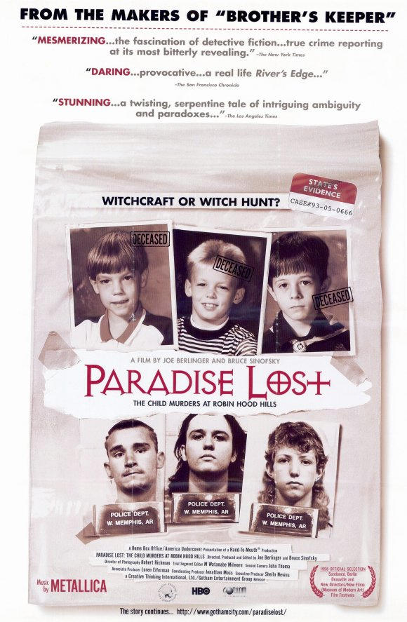 Paradise Lost The Child Murders At Robin Hood Hills 1996 Imdb