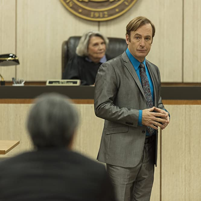 Frances Lee McCain and Bob Odenkirk in Better Call Saul (2015)