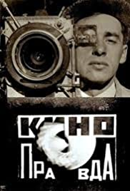 Kino-Pravda No. 18: A Movie Camera Race Over 299 Meters and 14 Minutes and 50 Seconds in the Direction of Soviet Reality Poster