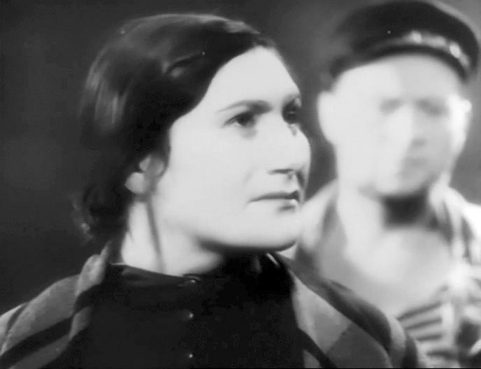 Yudif Glizer in Vosstaniye rybakov (1934)