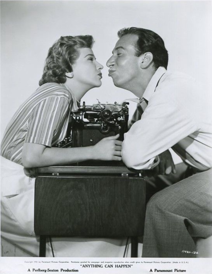 José Ferrer and Kim Hunter in Anything Can Happen (1952)