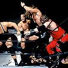 Chris Jericho, Glenn Jacobs, Dwayne Johnson, and Paul Wight in Survivor Series (2001)