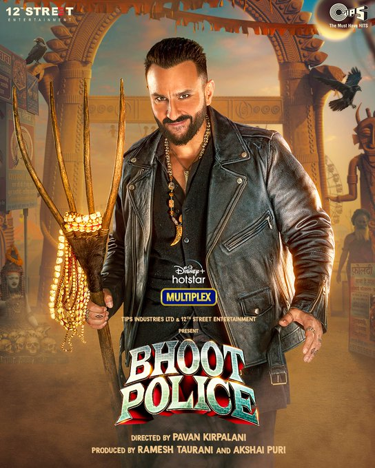 Bhoot Police 2021 Hindi 600MB DSNP HDRip 720p HEVC x265 ESubs