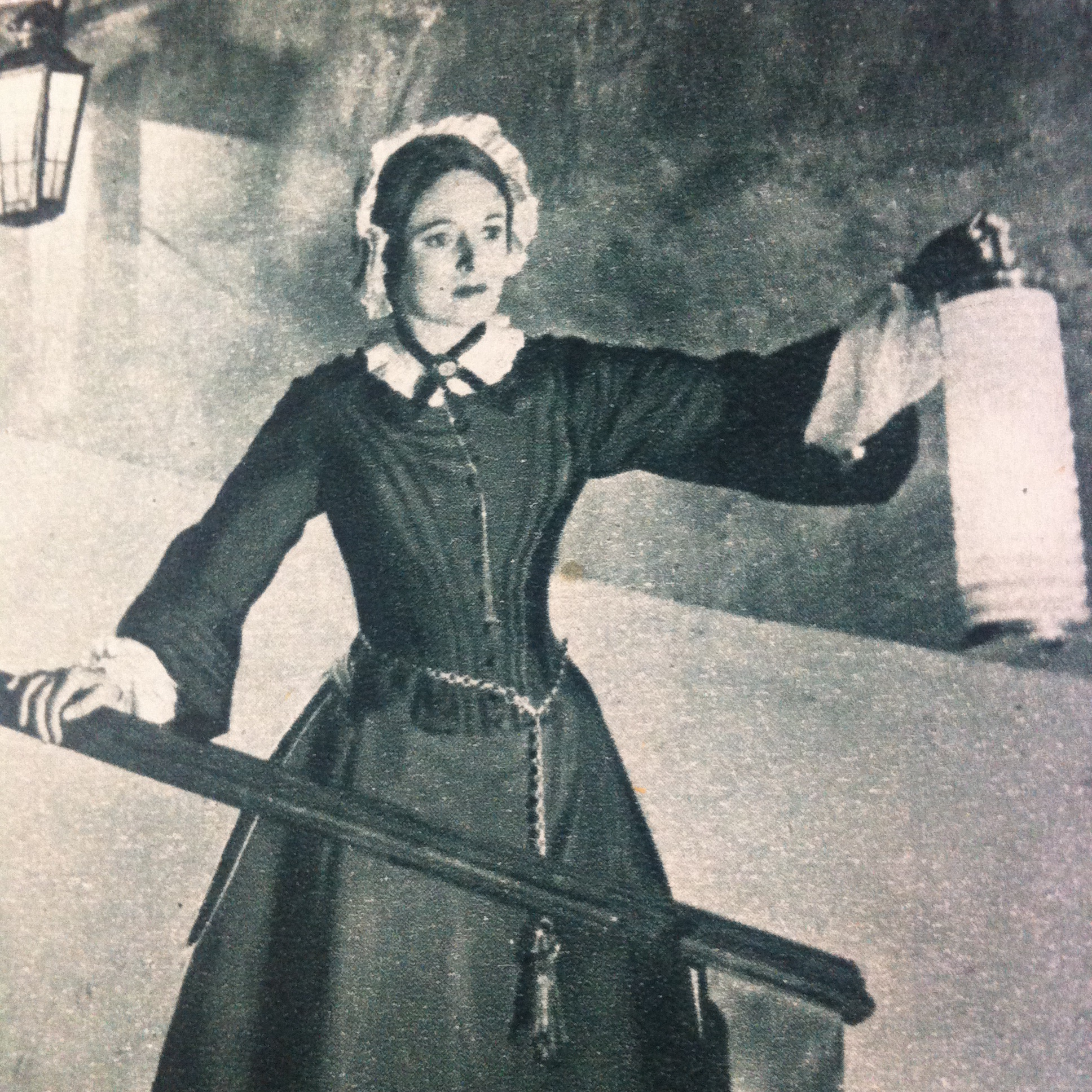 Anna Neagle in The Lady with a Lamp (1951)