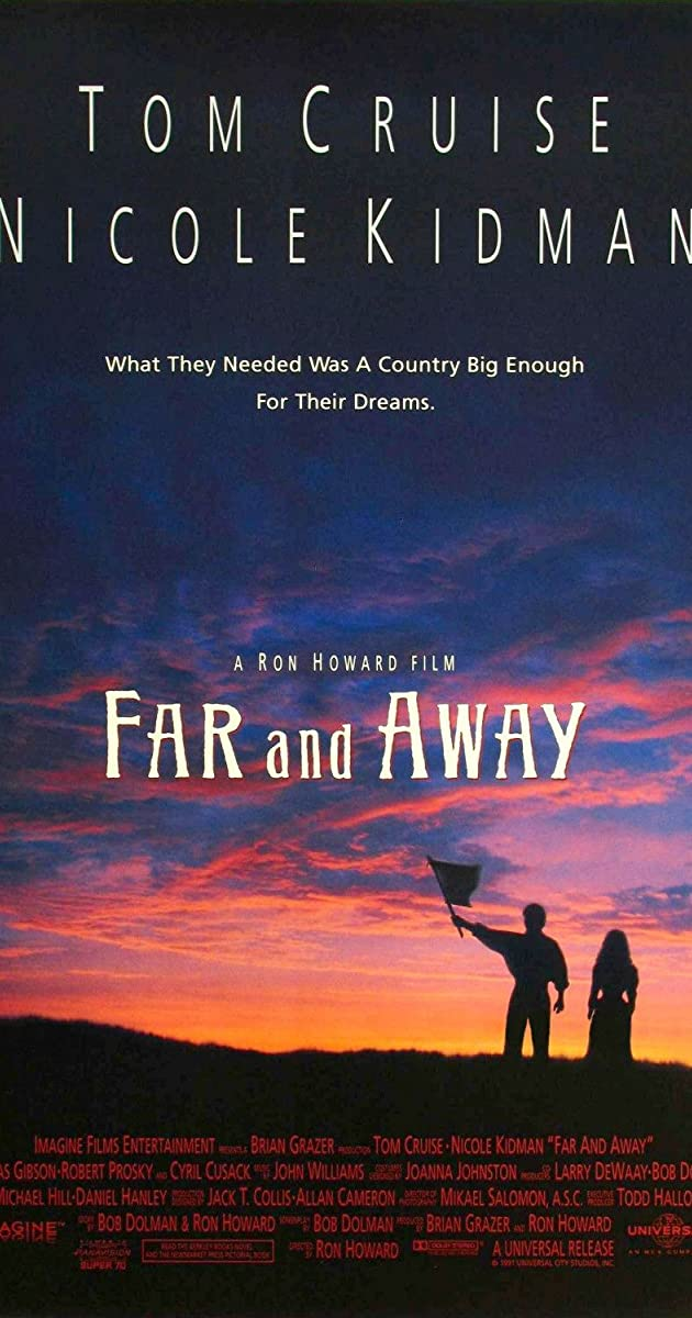 Far And Away 1992 Imdb