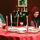 Leila Hatami and Ali Mosaffa in Leila (1997)