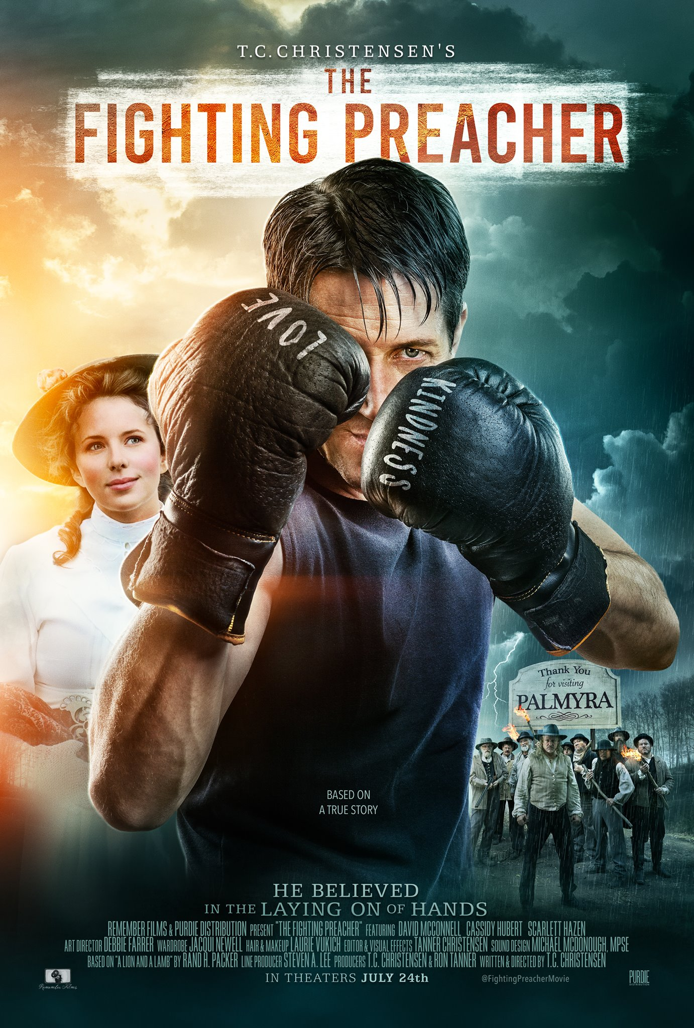 The Fighting Preacher (2019) Hindi Dual Audio 480p HDRip x264 450MB