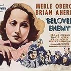 David Niven, Brian Aherne, Jerome Cowan, Donald Crisp, Karen Morley, Merle Oberon, and Henry Stephenson in Beloved Enemy (1936)