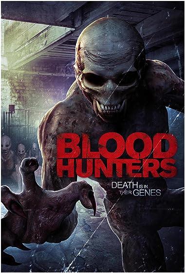 Poster of Blood Hunters 2016 Full Hindi Dual Audio Movie Download HDRip 480p