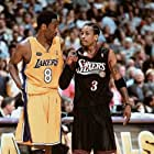 Kobe Bryant and Allen Iverson in 2001 NBA Finals Lakers vs Sixers (Game 3) (2001)