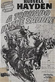 A Tornado in the Saddle Poster