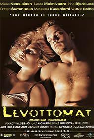 Mikko Nousiainen and Laura Malmivaara in Levottomat (2000)