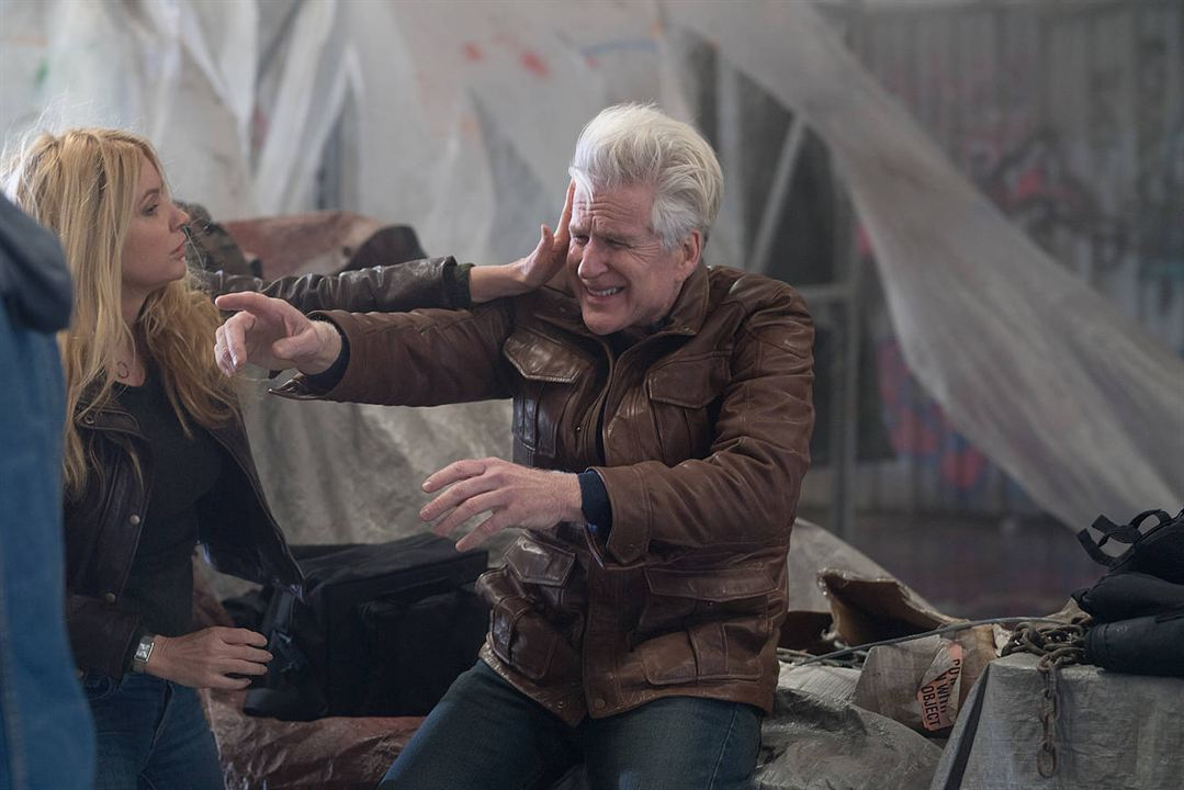 Matthew Modine and nm0931291 in Backtrace (2018)