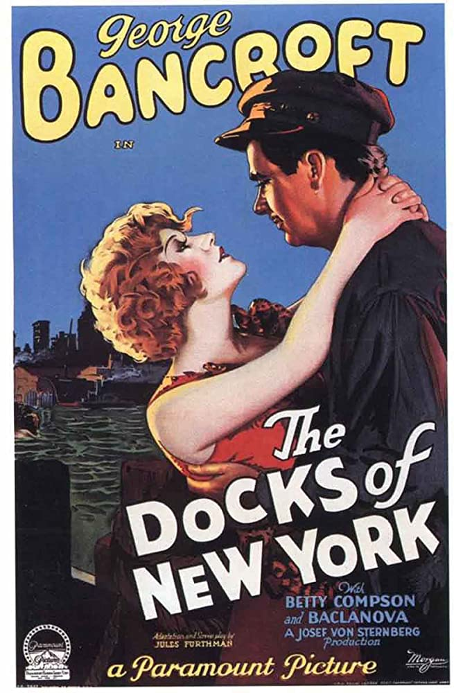 George Bancroft and Betty Compson in The Docks of New York (1928)