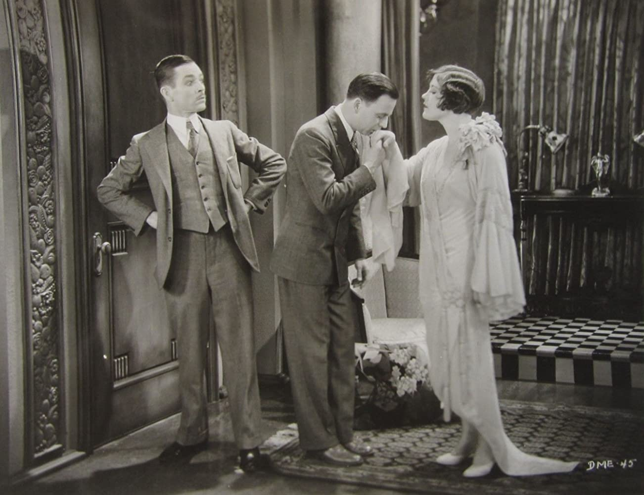Johnny Arthur, Douglas MacLean, and Marie Prevost in Divorce Made Easy (1929)