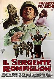 Il sergente Rompiglioni Poster