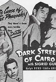Primary photo for Dark Streets of Cairo