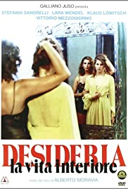 Desideria: La vita interiore (1980) Poster - Movie Forum, Cast, Reviews