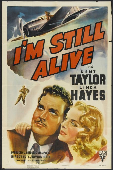 Linda Hayes and Kent Taylor in I'm Still Alive (1940)