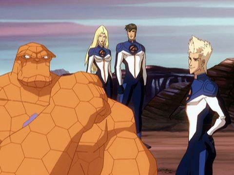 Fantastic Four: World's Greatest Heroes 720p