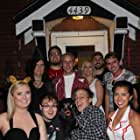 Joe Hammerstone, Keith Nussbaum, Jorden Eyermann, Theodore Lodato, Karen Druley, Dawn Bradley, Sofia Lidia, and Shelly Ann Clark in My Husband's a Werewolf (2017)