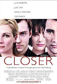 Jude Law, Natalie Portman, Julia Roberts, and Clive Owen in Closer (2004)